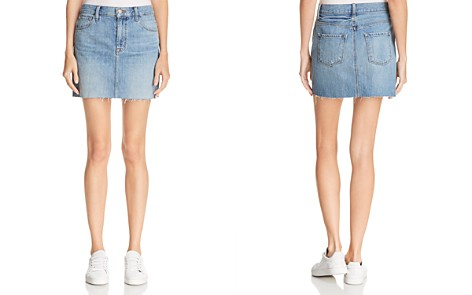 J Brand Bonny Mid Rise Mini Skirt - Bloomingdale's_2