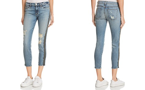 Hudson Nico Mid Rise Ankle Super Skinny Jeans in Fixate - Bloomingdale's_2