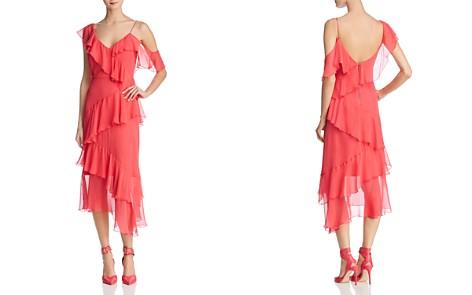 Alice + Olivia Olympia Asymmetric Ruffled Silk Dress - 100% Exclusive - Bloomingdale's_2