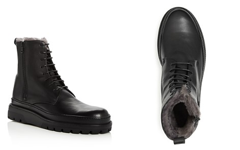 Vince Men's Edgar Leather & Shearling Lace Up Boots - Bloomingdale's_2