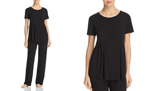 Donna Karan Basics Short-Sleeve Top & Lounge Pants - Bloomingdale's_2
