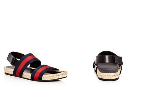 Gucci Men's Striped Sandals - Bloomingdale's_2