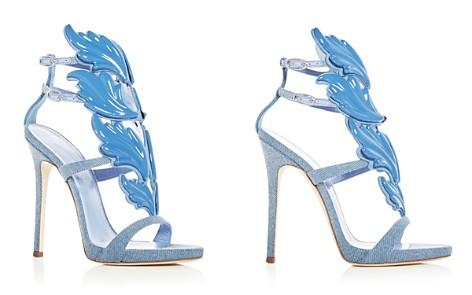 Giuseppe Zanotti Women's Cruel Coline Denim Wing Embellished High Heel Sandals - Bloomingdale's_2