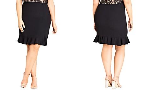 City Chic Ruffled Pencil Skirt - Bloomingdale's_2