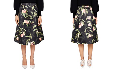 Ted Baker Alessio Peach Blossom Midi Skirt - Bloomingdale's_2
