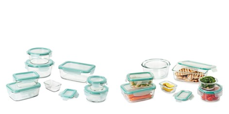 OXO 16-Piece Smart Seal Glass Container Set - Bloomingdale's_2