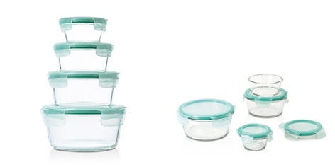OXO 8-Piece Smart Seal Glass Round Container Set - Bloomingdale's_2