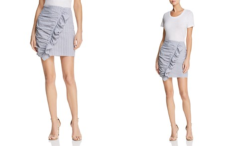 The Fifth Label Anagram Striped Ruffled Skirt - Bloomingdale's_2