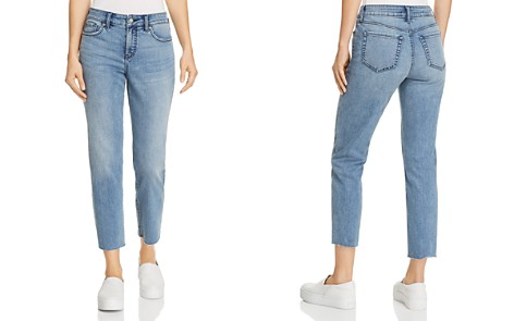 NYDJ Jenna Raw-Hem Ankle Jeans in Ponte Dune - 100% Exclusive - Bloomingdale's_2