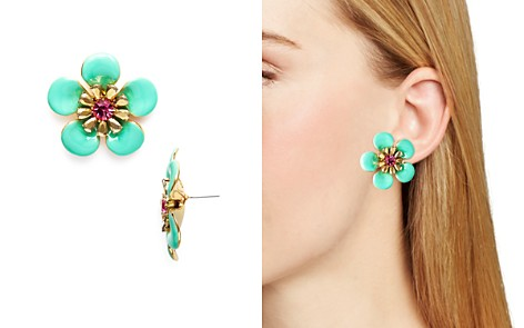 kate spade new york Flower Stud Earrings - 100% Exclusive - Bloomingdale's_2