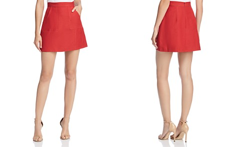 C/MEO Collective Confessions A-Line Mini Skirt - Bloomingdale's_2