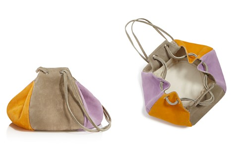 Creatures of Comfort Puff Color-Block Suede Drawstring Shoulder Bag - Bloomingdale's_2