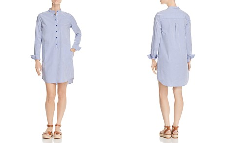 MICHAEL Michael Kors Striped Shirt Dress - 100% Exclusive - Bloomingdale's_2