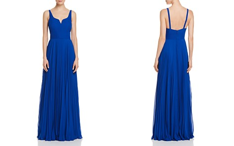 Laundry by Shelli Segal Pleated Chiffon Gown - Bloomingdale's_2