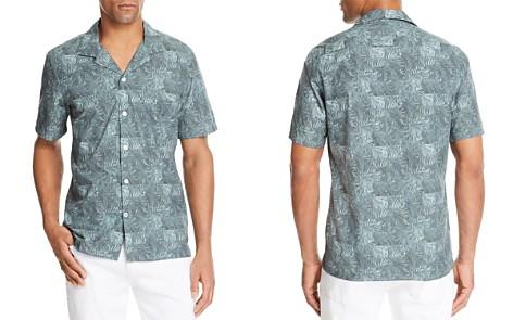 NN07 Fern Print Short Sleeve Button-Down Shirt - Bloomingdale's_2