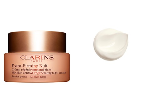Clarins Extra-Firming Wrinkle Control Regenerating Night Cream for All Skin Types - Bloomingdale's_2
