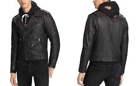 Polo Ralph Lauren Leather Biker Jacket - Bloomingdale's_2