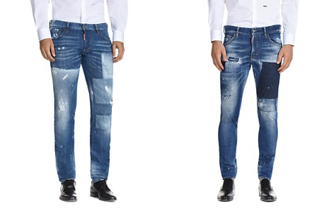 DSQUARED2 Patched Slim Fit Jeans - Bloomingdale's_2