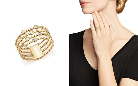 Bloomingdale's Diamond Multi-Row Ring in 14K Yellow Gold, 0.25 ct. t.w. - 100% Exclusive _2