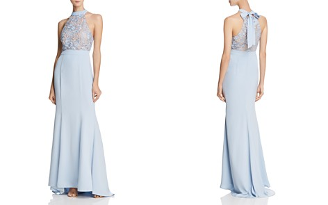 Jarlo Caden Lace-Bodice Gown - Bloomingdale's_2