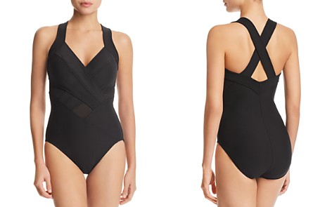 Miraclesuit New Revelations Meshmerize One Piece Swimsuit - Bloomingdale's_2