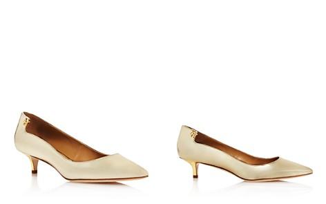 Tory Burch Women's Elizabeth Patent Leather Kitten Heel Pumps - Bloomingdale's_2