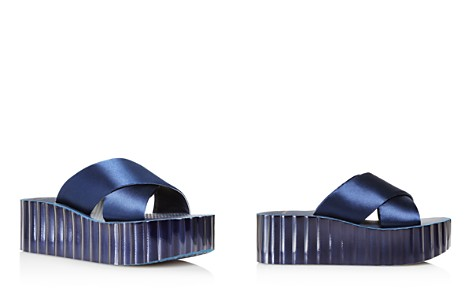 Tory Burch Women's Satin Scalloped Platform Wedge Slide Sandals - Bloomingdale's_2