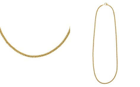 "LAGOS Caviar Gold Collection 18K Gold Necklace, 16"" - Bloomingdale's_2"