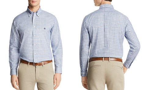 Brooks Brothers Windowpane Plaid Long Sleeve Button-Down Shirt - Bloomingdale's_2