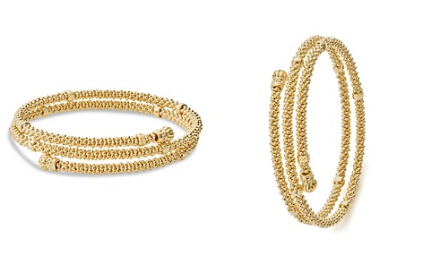LAGOS Caviar Gold Collection 18K Gold Coil Bracelet - Bloomingdale's_2