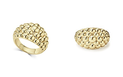 LAGOS Caviar Gold Collection 18K Gold Domed Ring - Bloomingdale's_2
