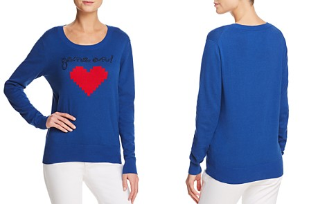 AQUA Game On Embroidered Sweater - 100% Exclusive - Bloomingdale's_2