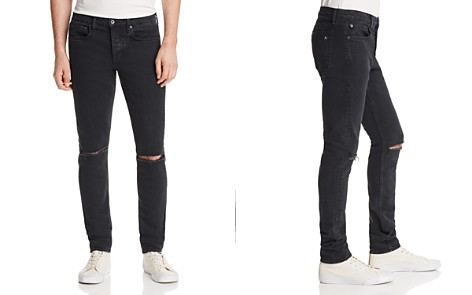 rag & bone Fit 1 Super Slim Fit Distressed Jeans in Shelter - Bloomingdale's_2