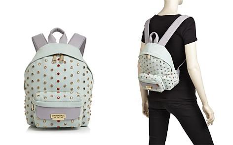 ZAC Zac Posen Eartha Small Denim and Leather Backpack - Bloomingdale's_2