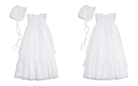 Pippa & Julie Girls' Christening Gown & Bonnet Set - Baby - Bloomingdale's_2