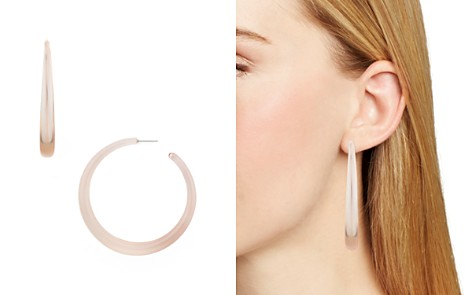 AQUA Large Lucite Hoop Earrings - 100% Exclusive - Bloomingdale's_2