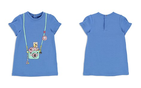 Little Marc Jacobs Girls' Fleece Trompe L'Oeil Camera Dress - Baby - Bloomingdale's_2
