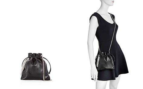 Giuseppe Zanotti Crystal Embellished Drawstring Leather Crossbody - Bloomingdale's_2