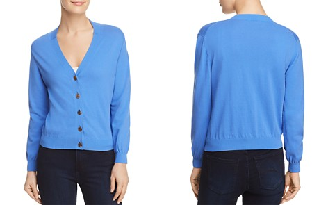 Tory Burch Margeaux Logo Button Cardigan - Bloomingdale's_2