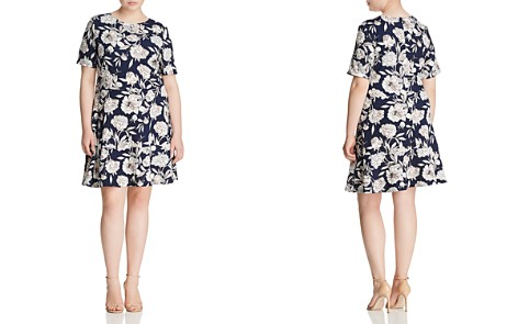 Love Ady Plus Textured Floral-Print Dress - Bloomingdale's_2