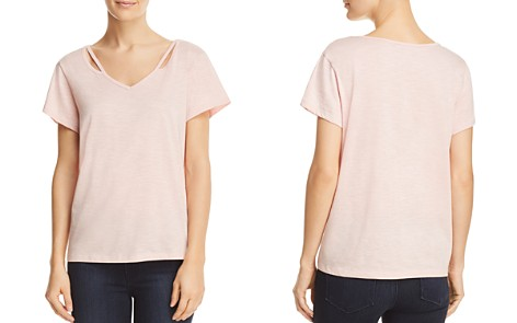 Alison Andrews Cutout V-Neck Top - Bloomingdale's_2
