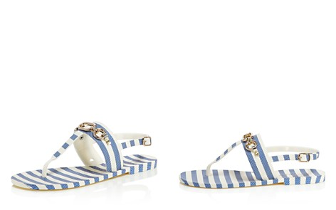 kate spade new york Women's Polly Striped Thong Sandals - Bloomingdale's_2