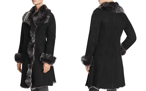 Maximilian Furs Divine Shearling Coat with Toscana Stand Collar - 100% Exclusive - Bloomingdale's_2