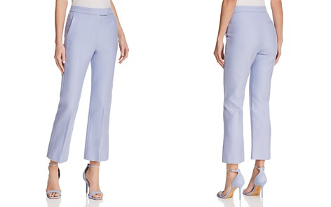 Sandro Joline Cropped Straight-Leg Pants - 100% Exclusive - Bloomingdale's_2