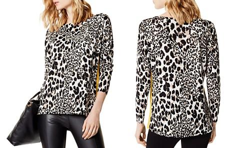 KAREN MILLEN Leopard Print Sweater - Bloomingdale's_2