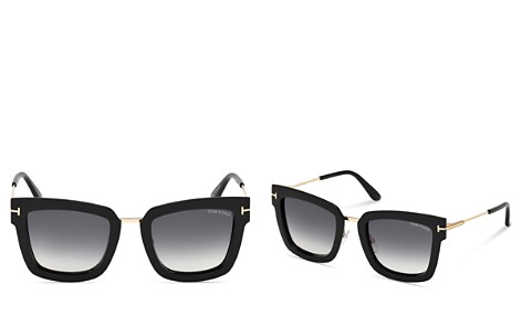 Tom Ford Lara Soft Square Sunglasses, 52mm - Bloomingdale's_2
