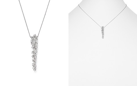 Bloomingdale's Diamond Drop Pendant Necklace in 14K White Gold, 0.50 ct. t.w. - 100% Exclusive _2