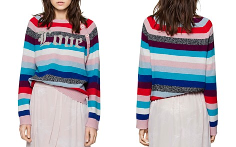 Zadig & Voltaire Justy Stripes Merino Wool Sweater - Bloomingdale's_2