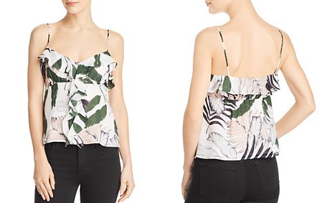 MILLY Emilia Silk Camisole Top - Bloomingdale's_2