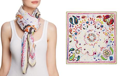 Jane Carr Fauve Floral Paisley Print Scarf - Bloomingdale's_2